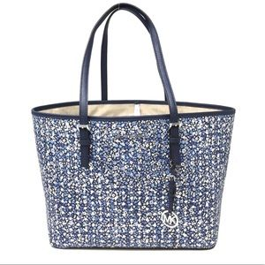 Michael Kors Jet Set Travel MD Tote Navy